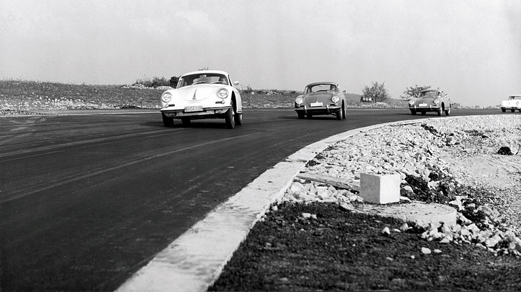 19652年首次啟用魏薩測試車道