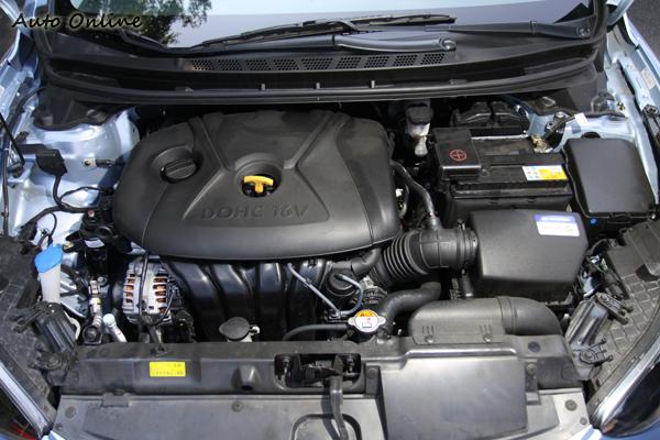 ELANTRA雖然沒有渦輪輔助但依舊可以提供150ps的最大馬力,表現同樣亮眼。