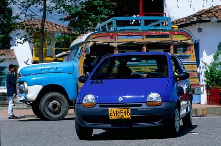 在哥倫比亞的生產與銷售好成績,讓Twingo的傳奇得以延續