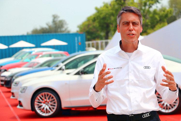 AUDI Sport Customer Racing 部門總監Rene Koneberg表示,得看媒體和車迷的反應才能決定明年是不是要再次來台舉辦。