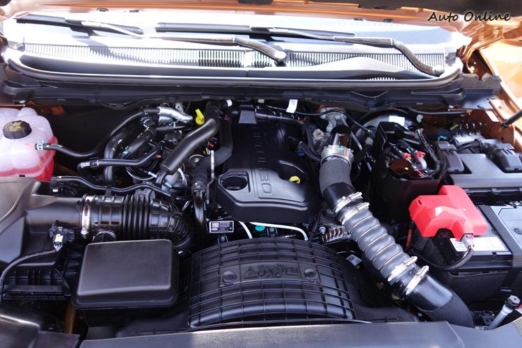 換裝排氣量較小的雙渦輪增壓引擎之後,各項性能都獲得改善。
