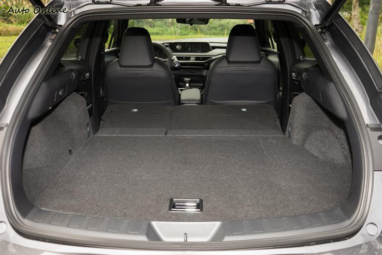 行李廂空間為325公升,放倒後座後為1000公升。