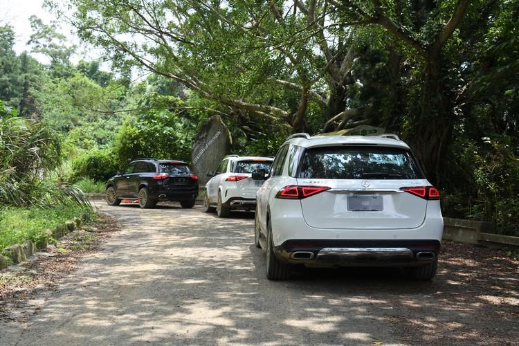 活動利用昔日亞哥花園的園區,整理出適合GLE探險的路徑。