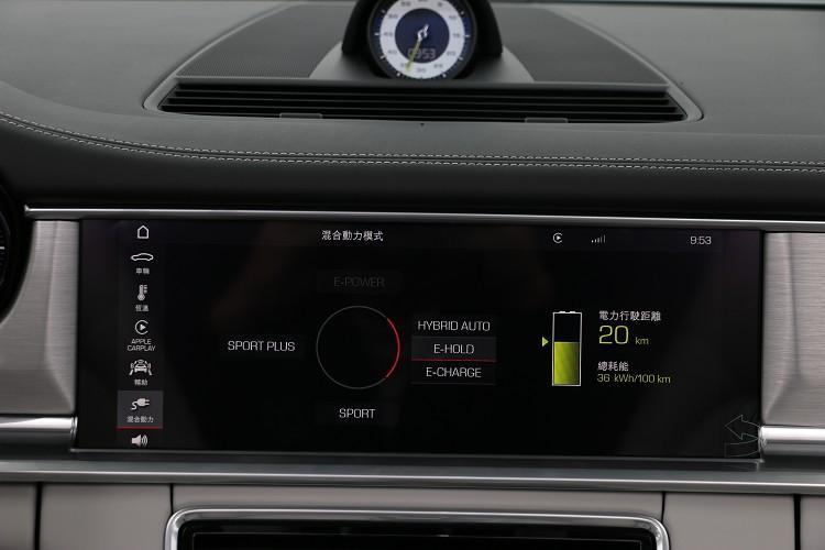 多種行車模式可以選擇,電腦會依照不同模式選擇出力狀態。