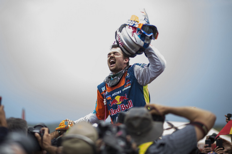 奧地利名將Matthias Walkner成功圓夢,贏得生涯上首次的達卡大賽冠軍。