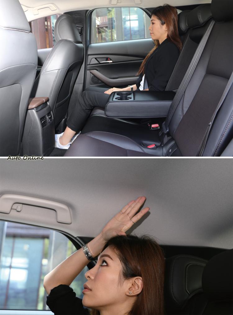 對於偶爾載客的買家來說,後座空間水準已經達到舒適要求。