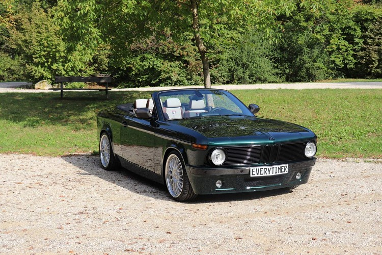 BMW 135i变身成为2002,命名为BMW ETA 02 Cabrio