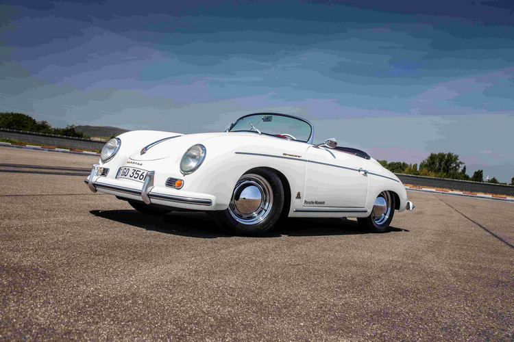 《驚天動地60秒》中出現的Porsche 356 1500 Speedster。