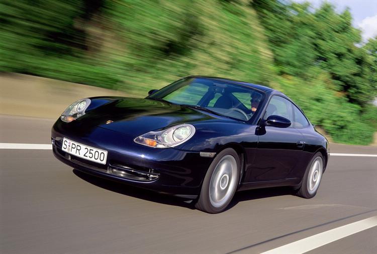《驚天動地60秒》中出現的保時捷911 Carrera(Type 996)。