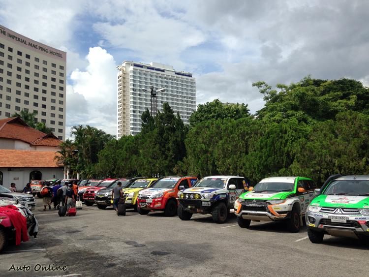 六天的賽程結束,全數車輛都安全完賽。