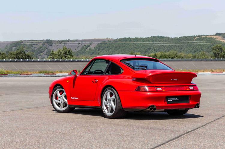 《驚天動地60秒》中的保時捷911 Turbo(Type 993)。