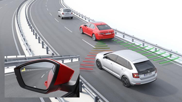 在歐盟地區,車測盲點偵測系統列為標準配備,此系統也增加了後方交通偵測警示輔助,希望也能引進台灣。