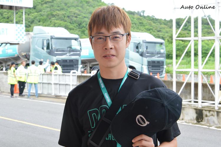 台灣區代表鄭祖文,算是全場17各國代表最年輕的一個,帶著學習心態來參加今年比賽。