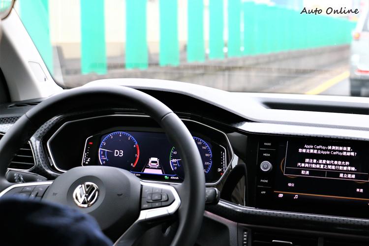 主動安全則全車系標配IQ.DRIVE智能駕駛輔助系統,車距維持在高速公路上特別好用。
