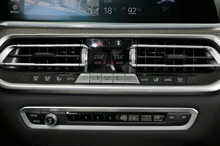 六角形中控儀表台簡潔俐落,延續BMW直覺且人性化的操作。