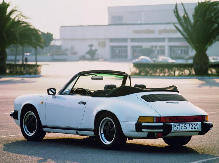 《三不管地帶》出現的1983年份的保時捷911 SC 3.0 Cabriolet。