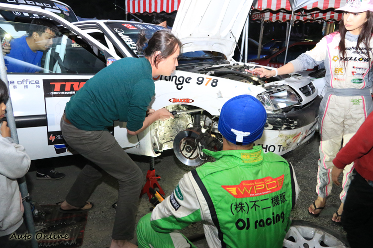 車手除了技術之外,後勤也攸關比賽成績。