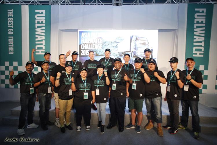 來自全亞太區的17位選手,其中四位是女性,開創了活動新頁。