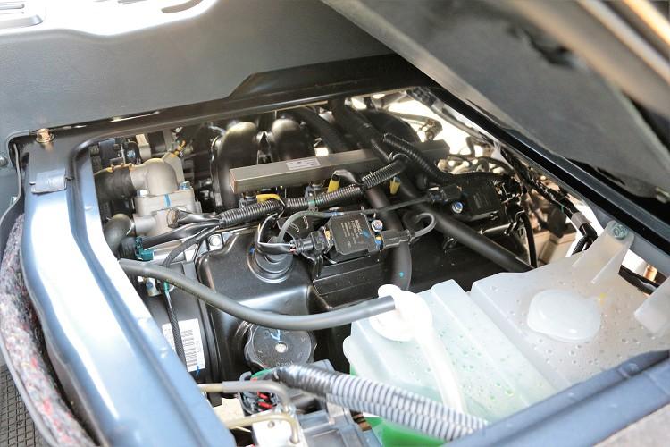 改款重點之一就是動力的提升,從原本的1.3升引擎換上1.5升可變汽門正時引擎。