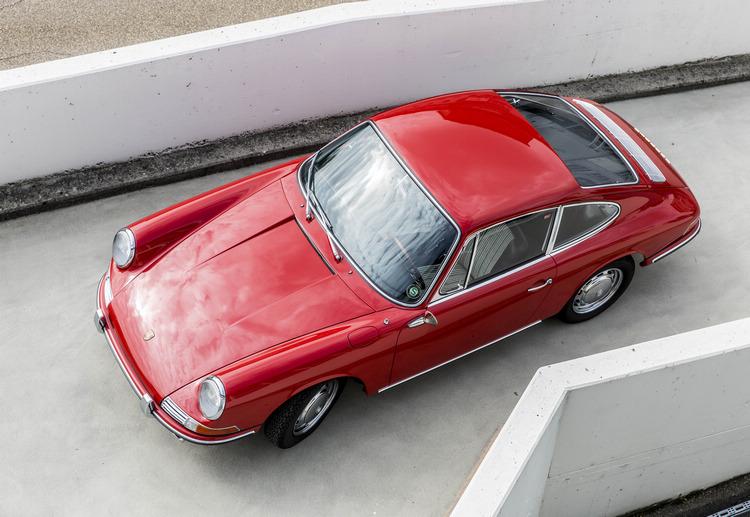 足以見證車壇歷史的這部車,目前是博物館中年代最久的911。