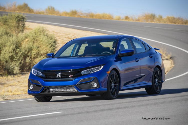 汽車線上 1 5 Turbo動力破200馬 Honda Civic Sedan Si 2020年