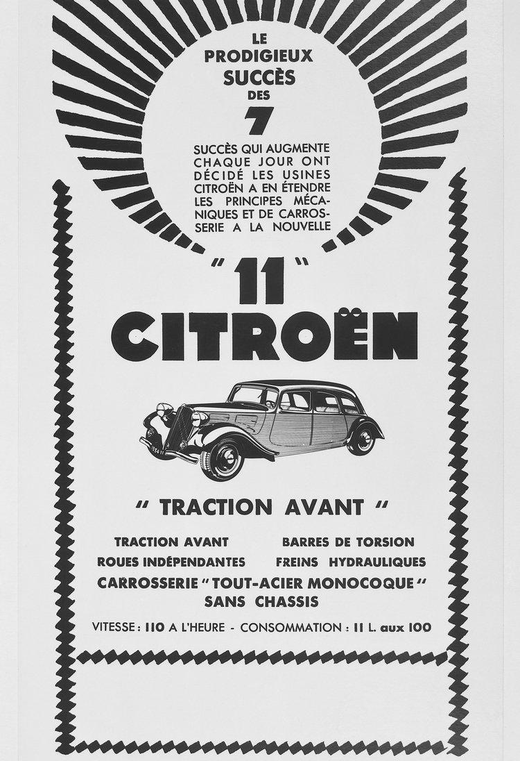 1934年推出的11A擁有更大排氣量引擎,以及更長的軸距車體。