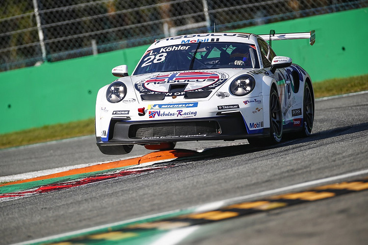 Nebulus Racing by Huber車隊的丹麥籍車手Leon Köhler,駕駛911 GT3 Cup。