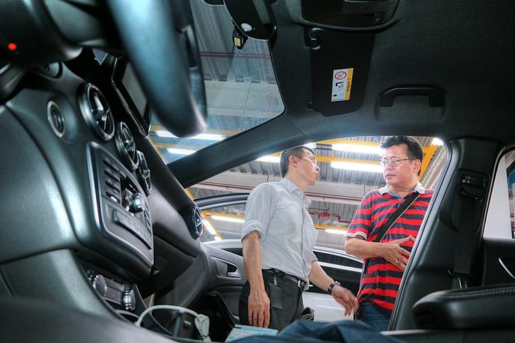 對於有意出售愛車的賓士車主,也有一套完整貼心的估價服務。