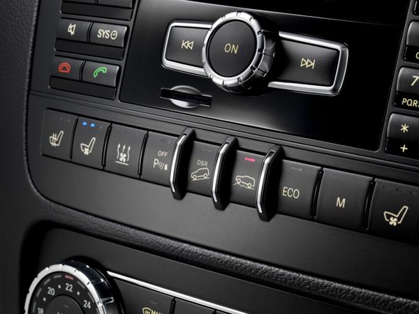 選配越野套件之後,中控台就有DSR以及越野模式的按鈕。