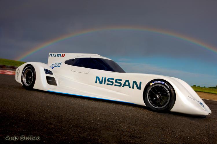 Nissan Zedo RC搭載的三缸引擎,創造出400hp最大馬力,重量僅40kg。