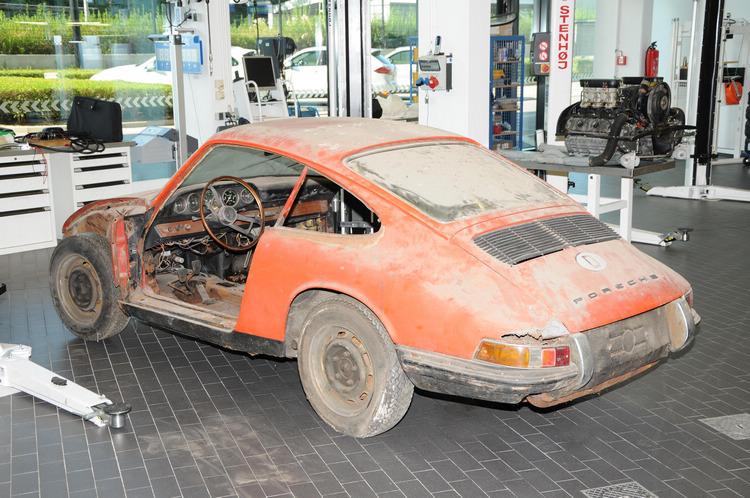 成功修復初代911!保時捷博物館當鎮館之寶