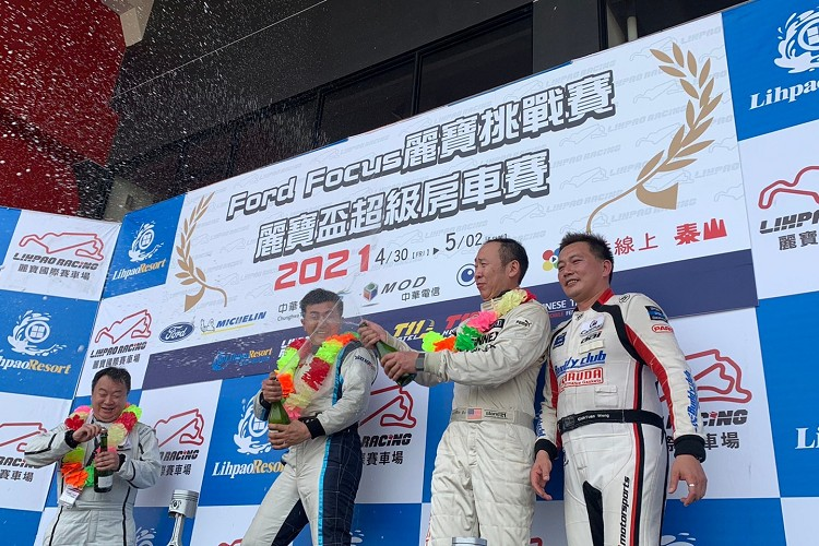 Turbo組別,冠軍王建民,亞軍苗華斌、翁志元 ,季軍吳益洲。