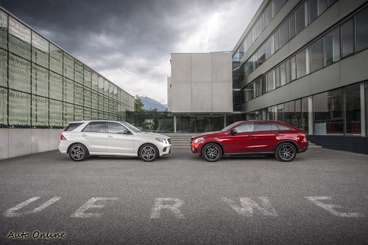 標準版GLE與新推出的Coupe,你選哪道菜?