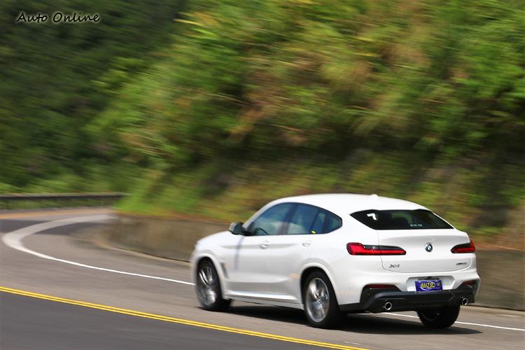 BMW X4是繼X6之後X家族中第二款SAC (Sports Activity Coupé)運動跑旅。