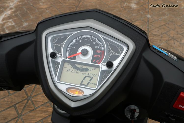 儀錶板下方增加ABS燈號。