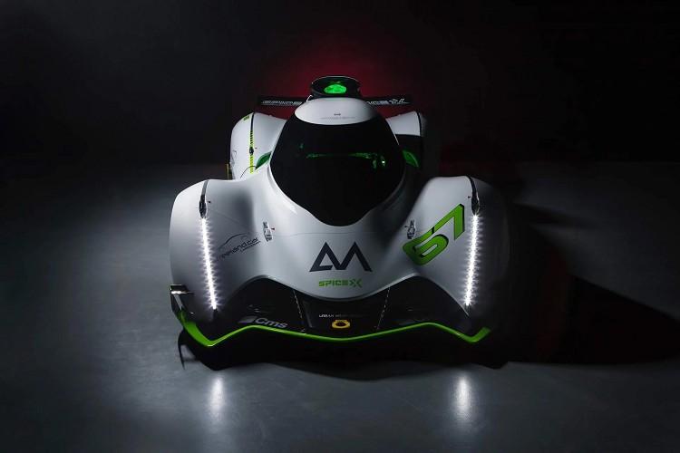 经济又实惠的电动赛车Spice-X概念车登场