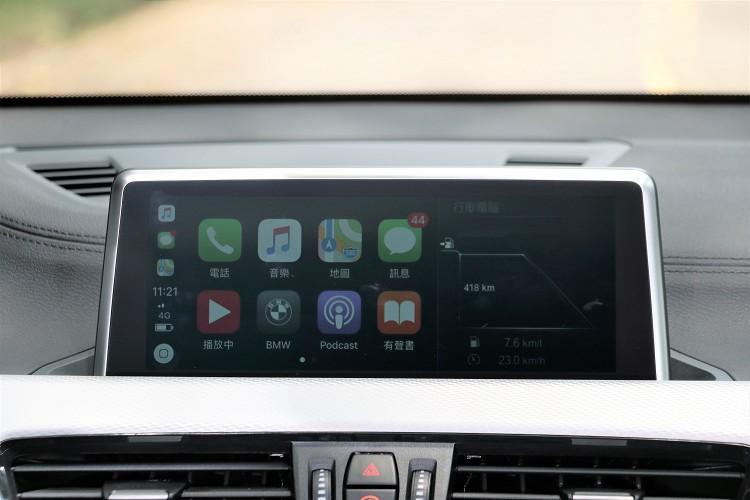 領航版全車系標準配備無線Apple CarPlay整合系統。