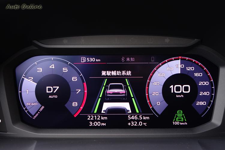 全車系標配完整的駕駛輔助系統,也是本車的賣點之一。