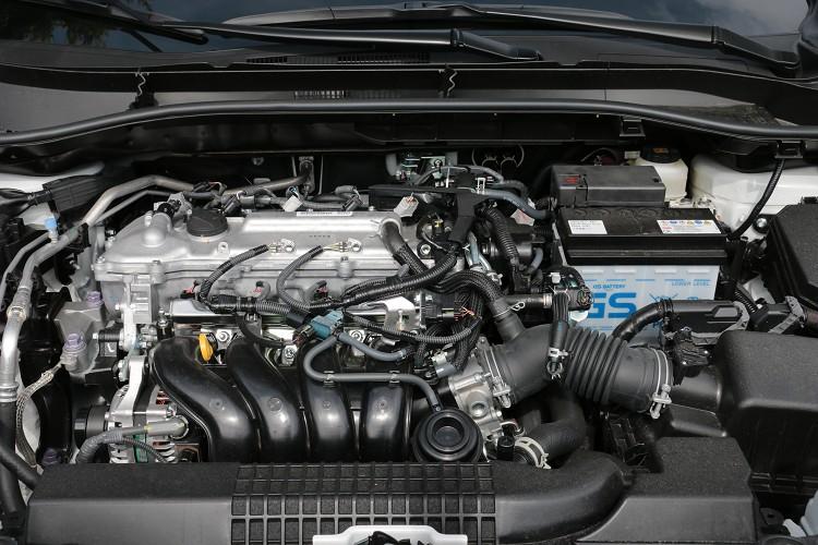 動力部分搭載的是一顆1.8升四缸自然進氣引擎,具備Dual VVT-i系統,無論在任何引擎轉速下,都能發揮充沛的動力輸出。