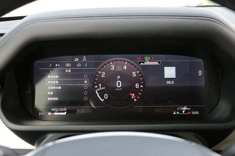 儀錶板12.3吋數位虛擬螢幕可切換不同模式,這已廣泛運用在品牌各車系上。