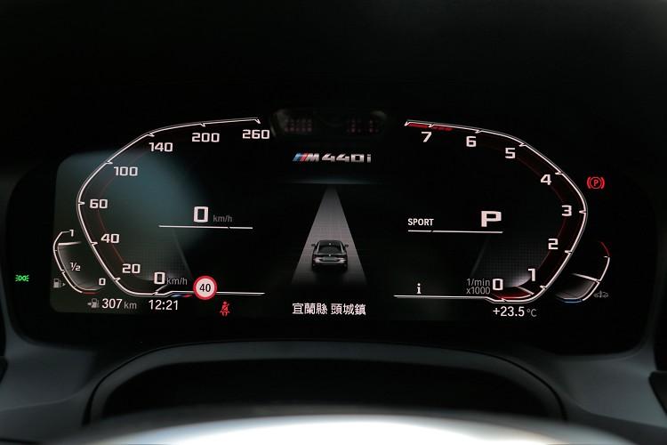 12.3吋的虛擬儀表板,支援各種顯數據顯示以及畫面變化。