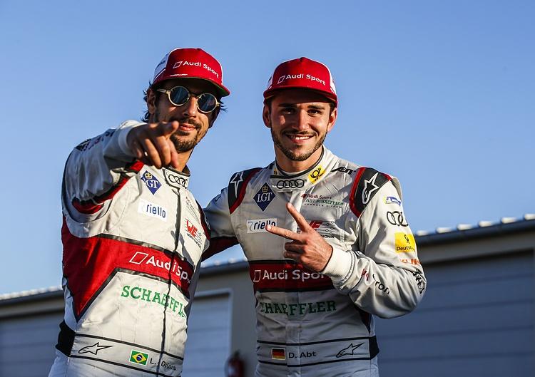 為車隊取得總錦標的Daniel Abt(右)及Lucas di Grassi將會繼續為Audi捍衛榮譽。