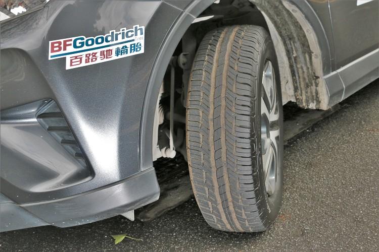 Advantage T/A SUV針對休旅車款在胎面以及胎壁做微調整,應付較重的車身附載。
