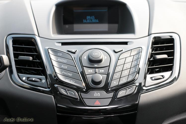 Fiesta的Sync中文化聲控系統功能強大,能連接手機傳送音樂或打電話。