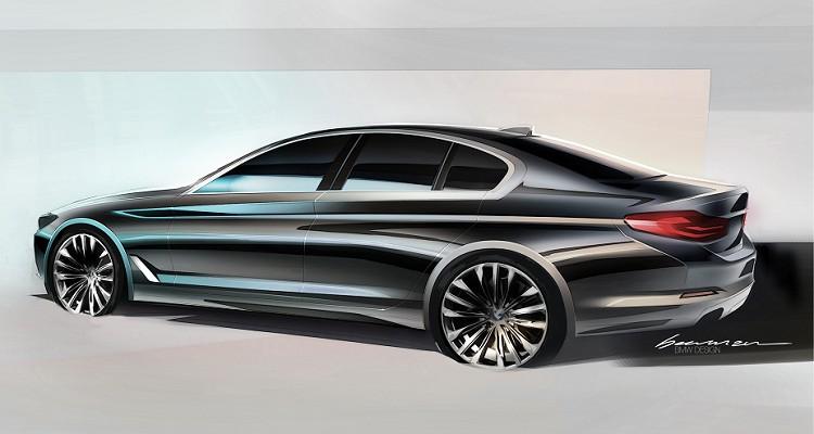 原廠設計師表示,F10 5系列車側比例已近乎完美,所以在G30上面沒有做太大的變動。