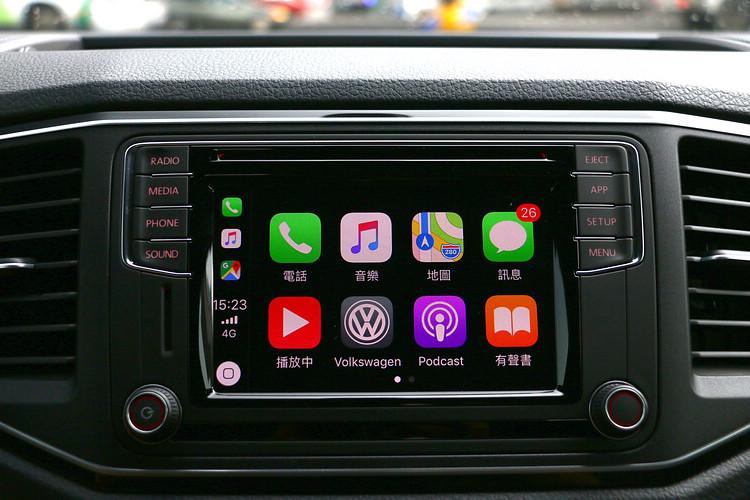 配備支援App-Connect手機多媒體連結功能,成為冒險旅途的最佳良伴。