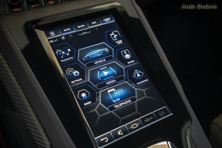 多點觸控功能使駕駛只需輕觸螢幕,即可輕鬆控制車輛的各項連接設備。