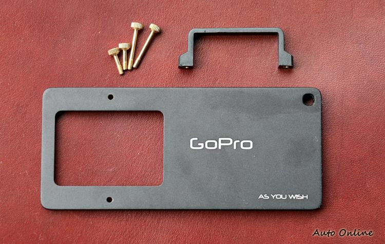 Z1-SMOOTH系列可以透過選配的轉接版裝載GoPro。建議售價980元。