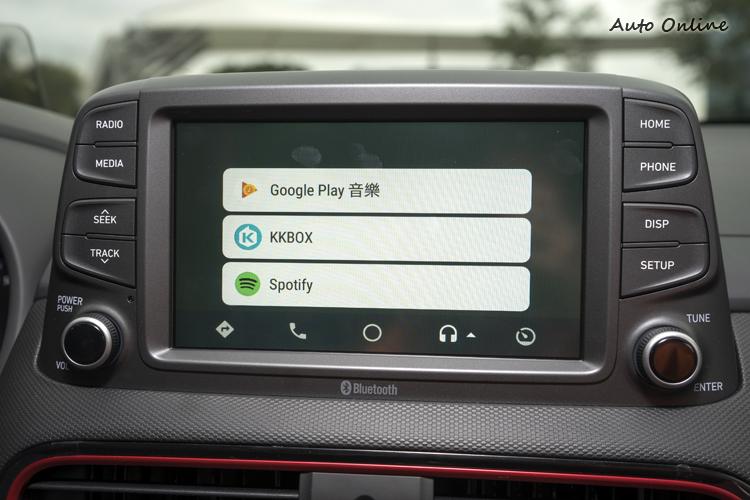 支援Apple Car Play、Android Auto等行動裝置整合平台。
