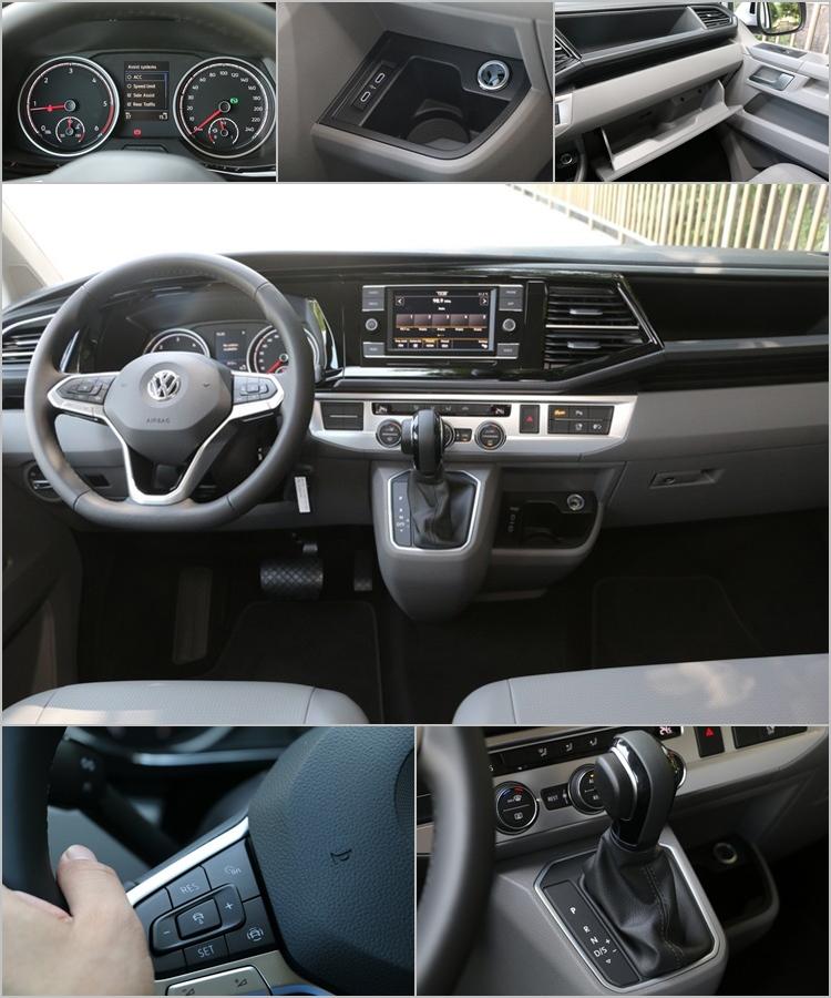 儀錶板設計同樣具有容易判讀的優點,彩色顯示幕可提供多樣化的車輛資訊。杯座造型也很適合用來放手機,還有USB充電插槽則改為Type-C型式。置物機能設計也毫不含糊,充分利用了寬敞車室的優點。首度導入的ACC主動車距控制巡航系統,有助於降低長途駕駛的疲勞感。七速DSG變速的換檔效率和速度,可協助提供更優質的舒適旅程。
